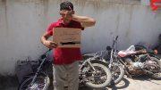 عامل سرقت های موتورسیکلت در خوی دستگیر شد