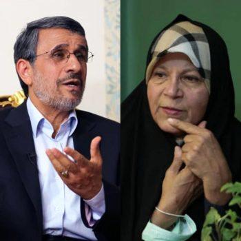واکنش دفتر احمدی نژاد به اظهارات جنجالی فائزه هاشمی