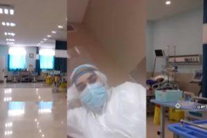 ایثارِ معلم خویی پس از ابتلای شدید به کرونا ویروس