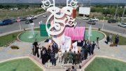 المان میدان معلم خوی طی مراسمی رونمایی شد + تصاویر