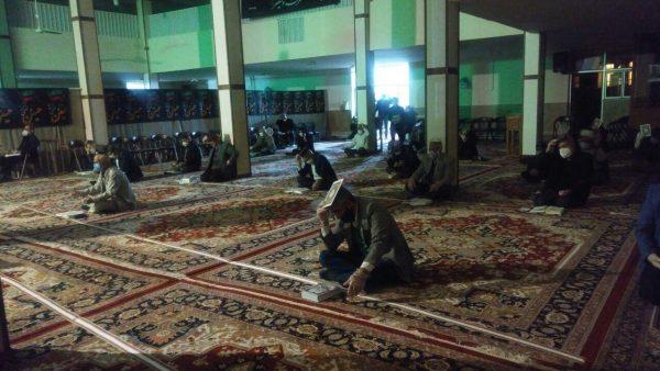 مراسم احیای اولین شب از لیالی قدر در خوی/ تصاویر