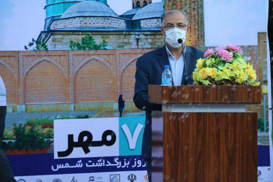 افتتاحیه ششمین همایش شمس و مولانا در خوی به روایت تصویر