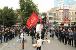 شهرستان خوی همه غرق در عزای علمدار کربلا