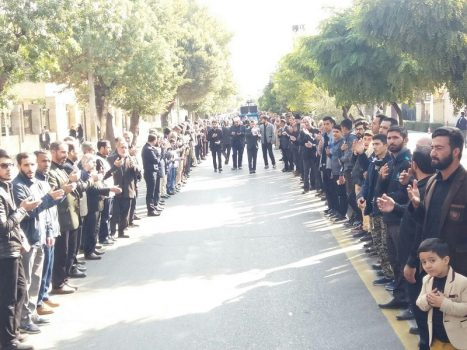 عزاداری وسوگواری خیابانی در سالگرد رحلت جانسوز پیامبر اکرم ( ص) و شهادت امام حسن مجتبی(ع)